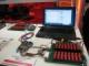 アクティブセルバランスのリニアと16セル対応のTI、バッテリーモニターICで競演