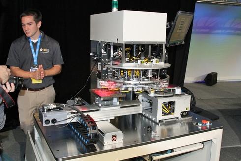 基調講演で紹介された台湾Machineryの半導体製造装置