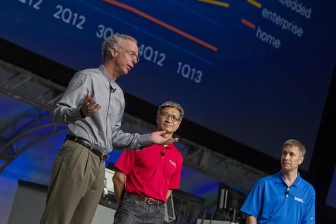 ARMのTom Lantsch氏とXilinxのVictor Peng氏