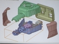 アールエスコンポーネンツが無償提供する3DCADツール「DesignSpark Mechanical」の画面