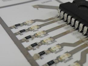 東京大学発のベンチャー企業 AgIC:市販プリンタで回路を印刷!  銀ナノ粒子を使った導電性インク (2/3)
