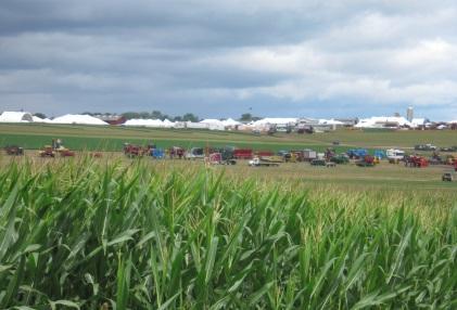 「Wisconsin Farm Technology Days」は、このような場所で開催されている
