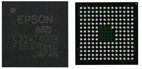 32ビットフラッシュマイコン「S1C31W74」