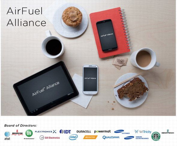 「AirFuel Alliance」のトップページ