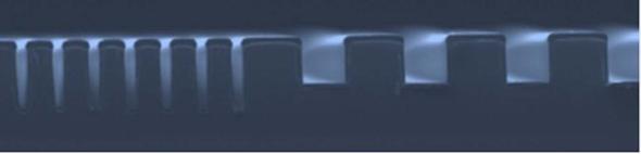 グラビアオフセット印刷版の断面