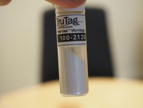 「TruTag」に使われるシリカの粉