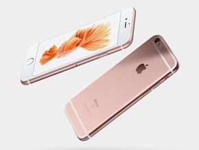 「iPhone 6s」のローズゴールド