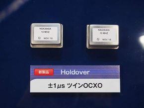 Holdover「1マイクロ秒/8時間対応」のツインOCXO