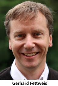 ドイツ・ドレスデン工科大学のGerhard Fettweis教授