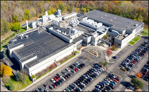 Cypress Semiconductorが今回、売却を検討している工場の外観
