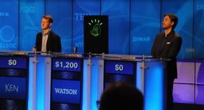 """米国のクイズ番組「Jeopardy!」に""""出演""""した「Watson」"""