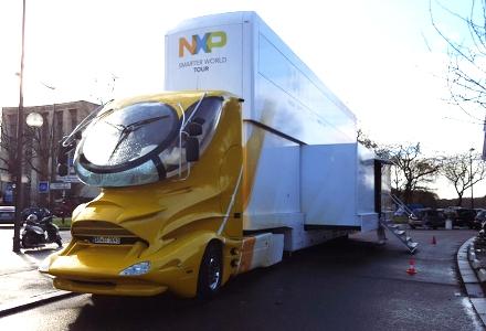 展示デモ用のトラック