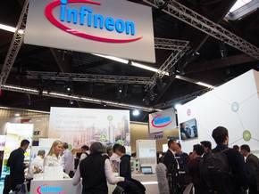 Infineon Technologiesのブース