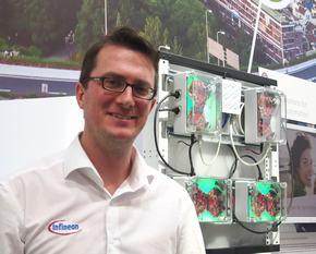 Infineon TechnologiesのTimo Grassmann氏