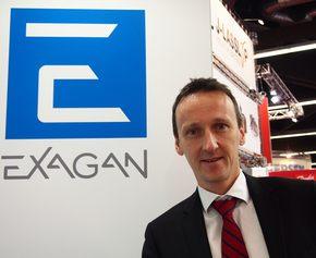 Exaganでプレジデント兼CEOを務めるFrédéric Dupont氏