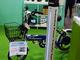 GaNで効率90%、電動自転車用無線給電システム
