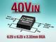 超低ノイズの6.25mm角サイズ電源モジュール