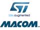 STとMACOMがRF向けGaN-on-Siでの連携を発表