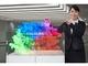 輝度と透明度を大幅向上、DNPの透明スクリーン