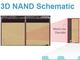 3D NANDフラッシュメモリの断面構造と製造工程