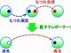 光子から炭素へ量子テレポーテーション転写に成功
