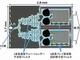 NEDOら、小型の16波長多重光回路チップを開発