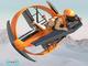 空飛ぶクルマ「rFlight」の体験コーナー設置、TE
