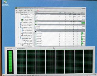 Windows 2003 Serverが動作中