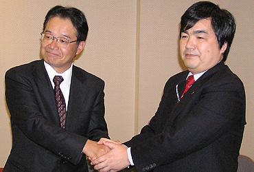 和田氏(左)と高木氏(右)