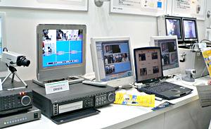 東芝の監視カメラ