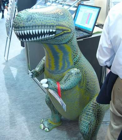 ティラノザウルス?