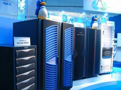 NECのサーバ製品群