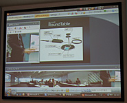 「RoundTable」のオペレーション画面