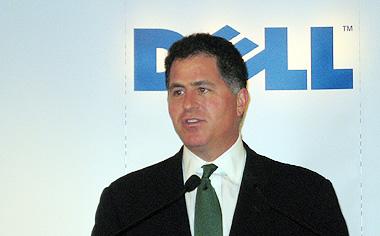 アジア市場における戦略を語る、会長兼CEOのマイケル・デル氏