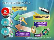 BitLocker機能の向上