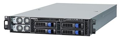 テクニカルサーバ「HA8000-tc/RS425」。東京大学に納入する新スパコンに実装する