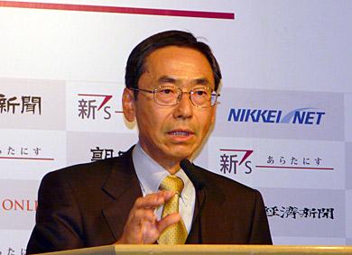長田公平氏
