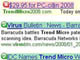 Trend Microかたる偽広告、Google検索で表示