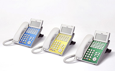 IP対応電話機「DT700」シリーズ、デジタル対応電話機「DT300」シリーズ