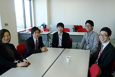 座談会に参加した日本オラクルの皆さん