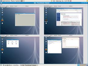 vncthumbviewerによるVNCサーバの監視vncthumbviewerによるVNCサーバの監視