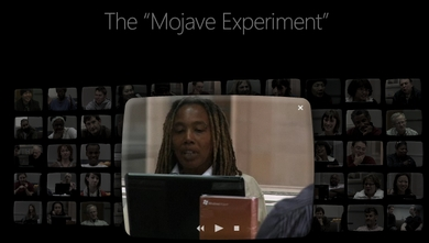 mojave expreiment