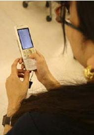 携帯で社内コミュニケーションの活性化
