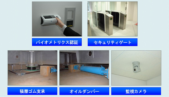 新東京IDCの信頼性を支える各種設備