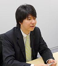 業務推進部門 Webサービス部部長の堀内哲氏