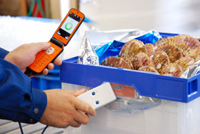 RFIDによる品質管理のイメージ