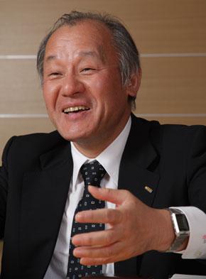 NTTコミュニケーションズの海野忍副社長