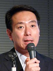 日本の自立を訴える前原誠司氏