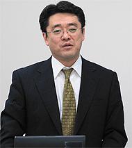 日本HP エンタープライズストレージ・サーバ事業統括 ISSビジネス本部 橘一徳 事業部長