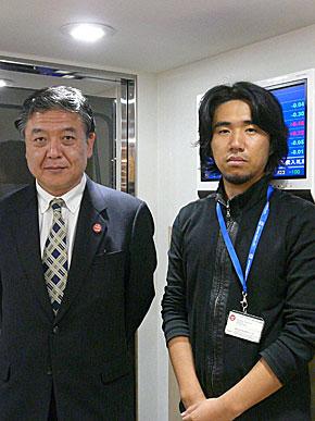 中島氏と谷口氏